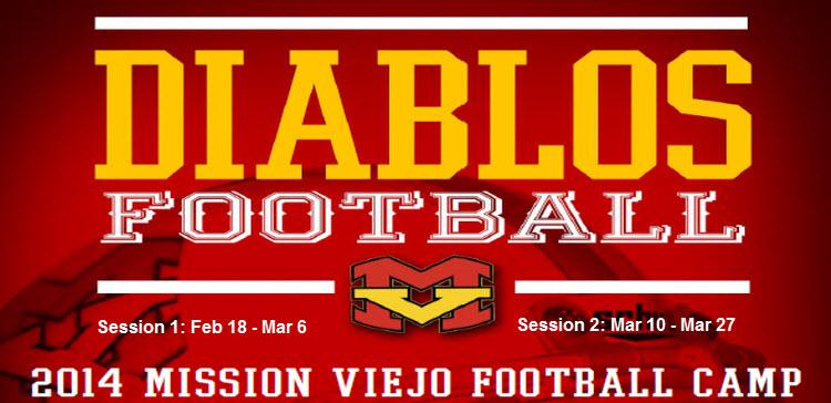 Diablos Football Camp | Mission Viejo Cowboys